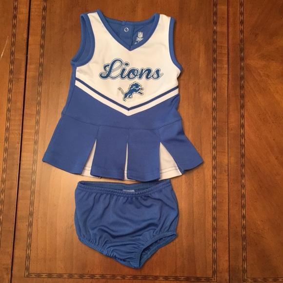 b9b81715 Detroit Lions cheerleader dress